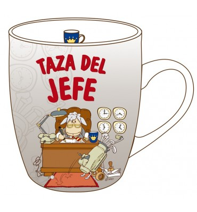 TAZA DEL JEFE