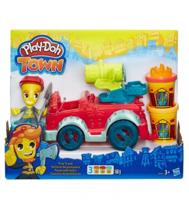 PD PLAYDOH TOWN FIRE TRUCK