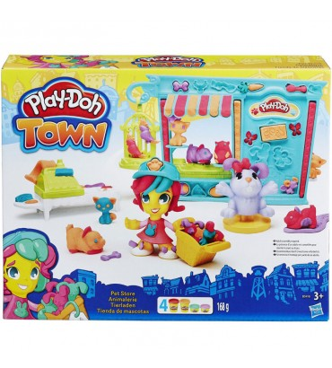 PD PLAYDOH TOWN PET STORE