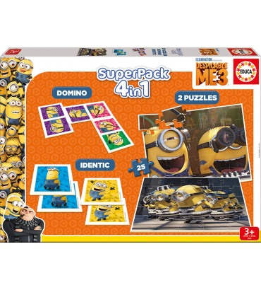 SUPERPACK DESPICABLE ME 3