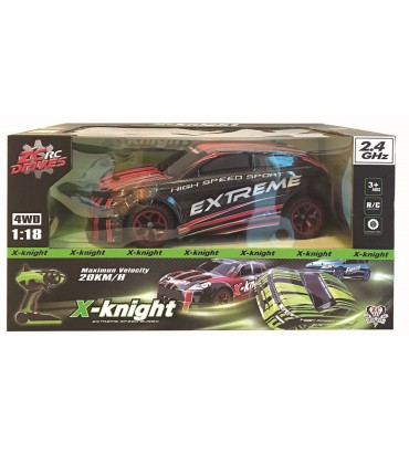 EVOQUE X-KINGHT RC 1:18...