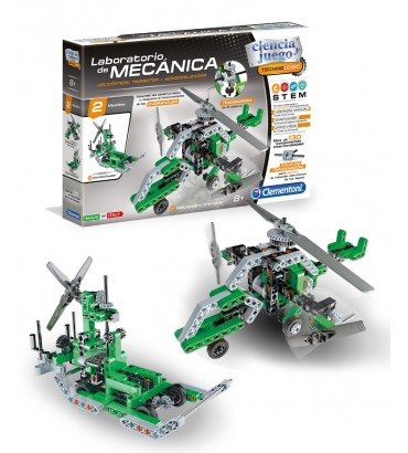 Lab mecanica Helicopter Fanboa