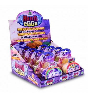 HERO EGGS - BLISTER UNA FIGURA