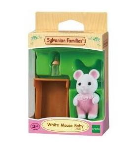 Bebé Ratón Blanco