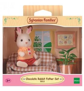 Conejo Chocolate Set Papá
