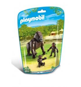 *Gorila con Bebés