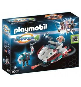 *Skyjet con Dr. X y Robot