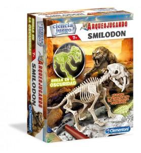 Arqueojugando Smilodon fluor
