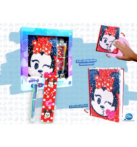 Diario sequin Disney e-moji
